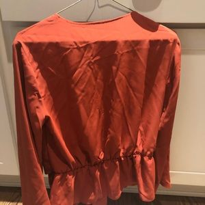 Topshop PETITE Tops - NWT TOPSHOP wrap blouse